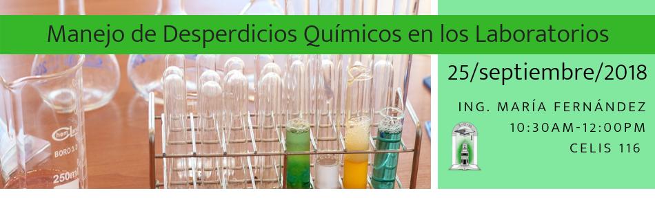 Manejo de Desperdicios Químicos en los Laboratorios
