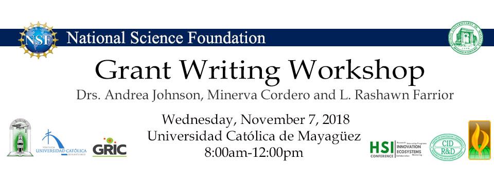 NSF Writing Workshop