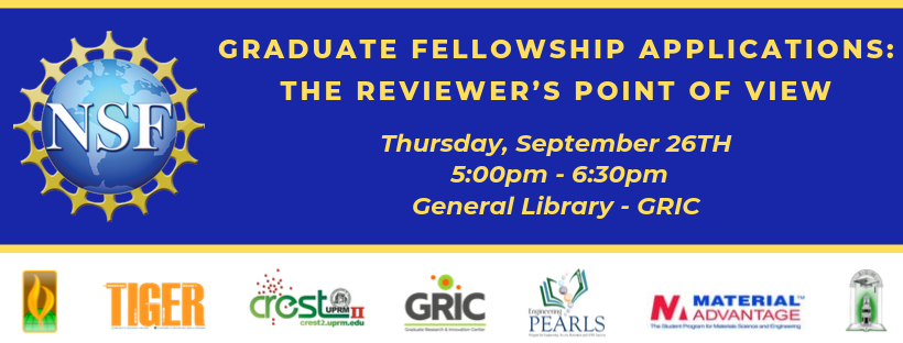Graduate Fellowship Applications The Reviewers point of view