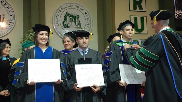 PhD Graduates, January 2017