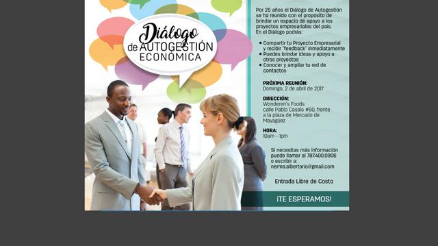 Diálogo de Autegestión Económica