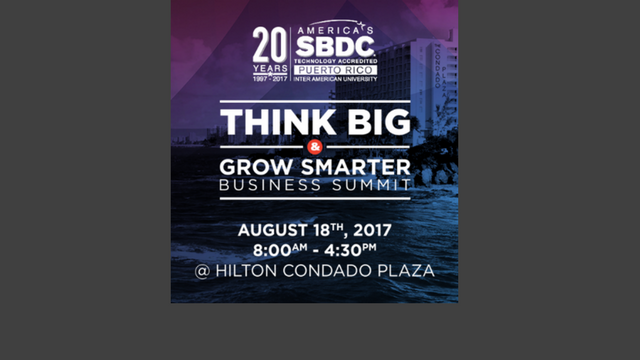 THINK BIG & GROW SMARTER BUSINESS SUMMIT
