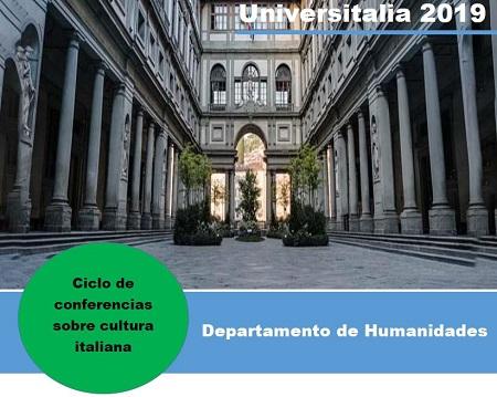Ciclo de Conferencias-Cultura Italiana, ver Calendario de Humanidades para más detalles sobre las actividades