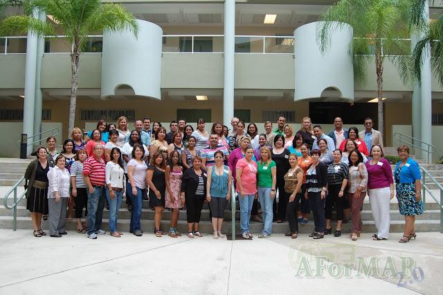 AForMAR 2 Maestros y Recursos- Verano 2012