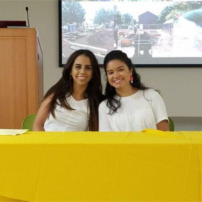 Student's Panel- Summer Internships Experiences: Sarimar Pérez  and Rubí Santiago from IAUPR-SG.