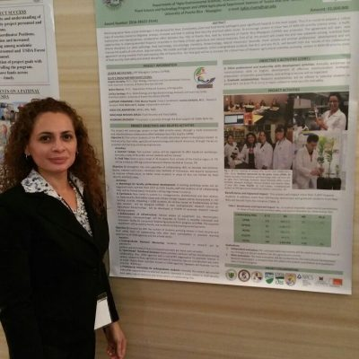 Prof. Marian Espola participacipation at Workforce Diversity and Career Opportunities within the USDA Conference held from Feb. 16 to 18, 2015 at Albuquerque, New Mexico.