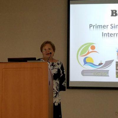 Dr. Nyvia Alvarado, Dean of Academic Affairs at Interamerican University of Puerto Rico San Germán Campus, welcomed the assistants.