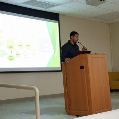 Student's Scientific Presentations: Luis D. Rivera Cubero from University of Puerto Rico- Aguadilla Campus.