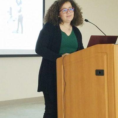 Student's Scientific Presentations: Nicole Irizarry Tardi from University of Puerto Rico- Mayaguez Campus.