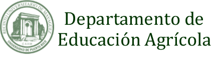 Departamento de Educación Agrícola