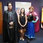 EDSA members in costume posing for the camera.