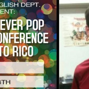 Gabriel Romaguera talks about the Pop Culture Conference