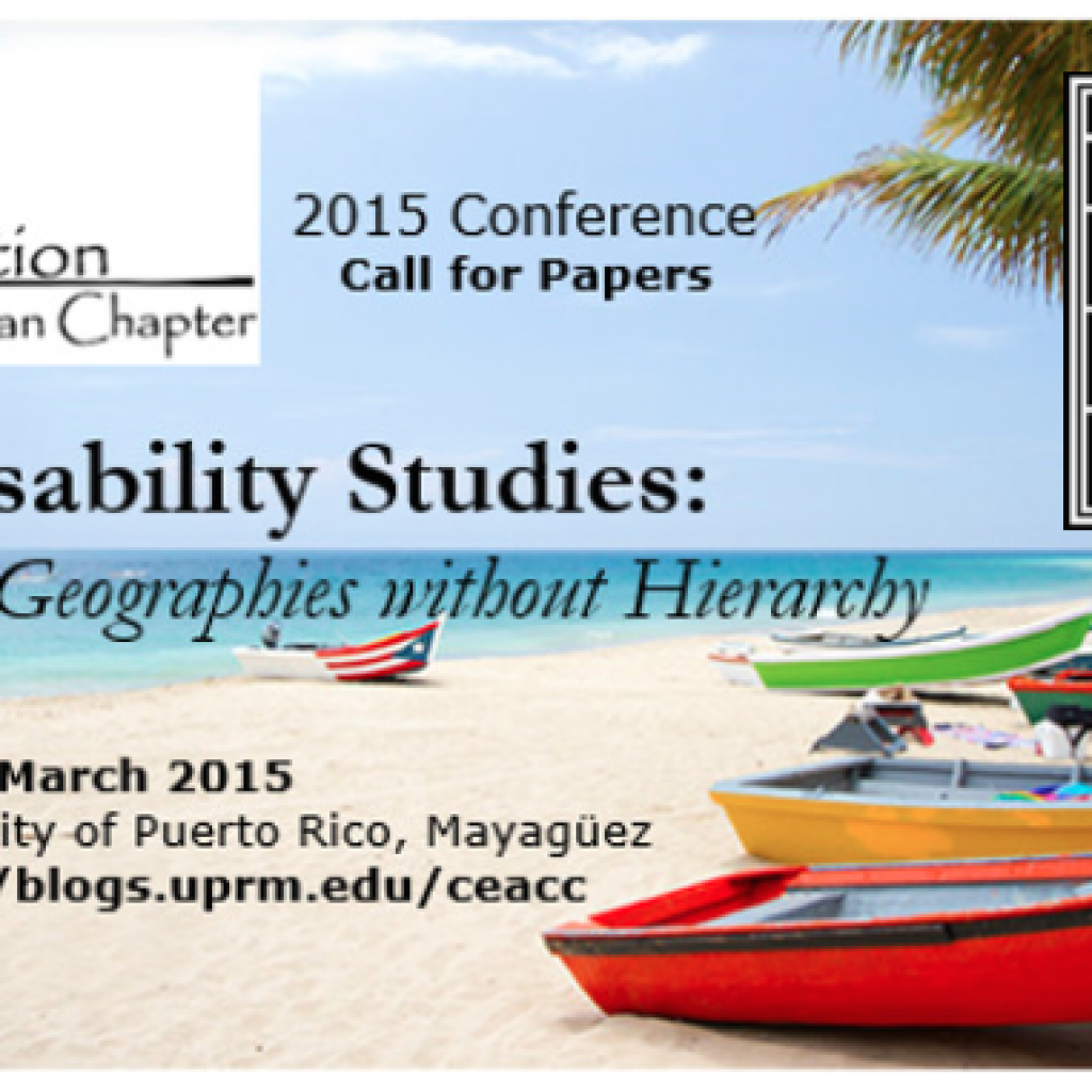 College English Association – Caribbean Chapter's 2015 Conference: Disability Studies