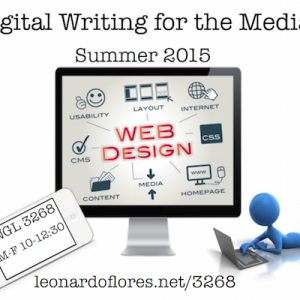 Summer Course: Digital Writing for the Media