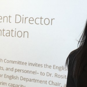 Dr. Rosita Rivera's Candidacy Presentation