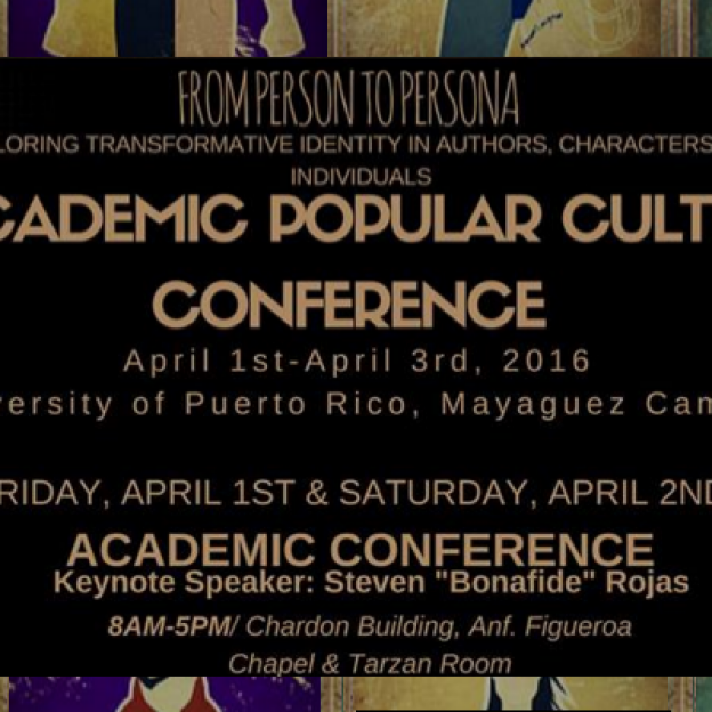 PCSA Proudly Presents a Weekend of Popular Culture for Everyone