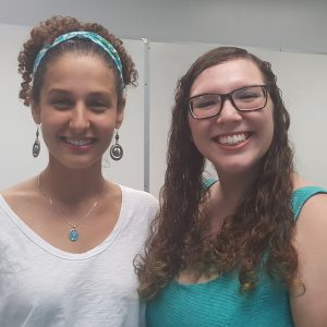 Congratulations to 2016's Mellowes Award Winners: Demi Fuentes and Ana Portnoy!