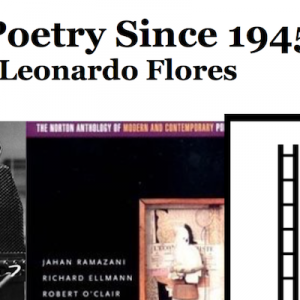 New Course in the Fall: Poetry Since 1945