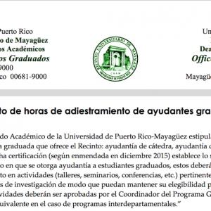 New M.A.E.E Program Forms