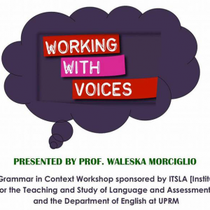Working With Voices: A Grammar In Context Workshop