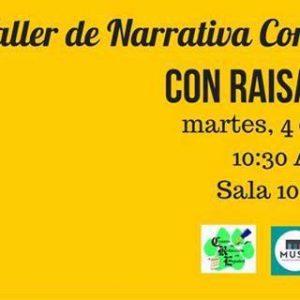 Scriptwriting Workshop with Raisa Bonnet, Tuesday, October 4, 10:30, MUSA