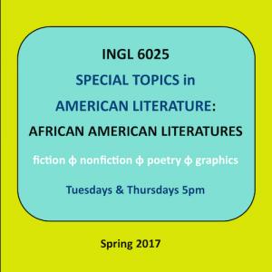 INGL 6025: African American Literature