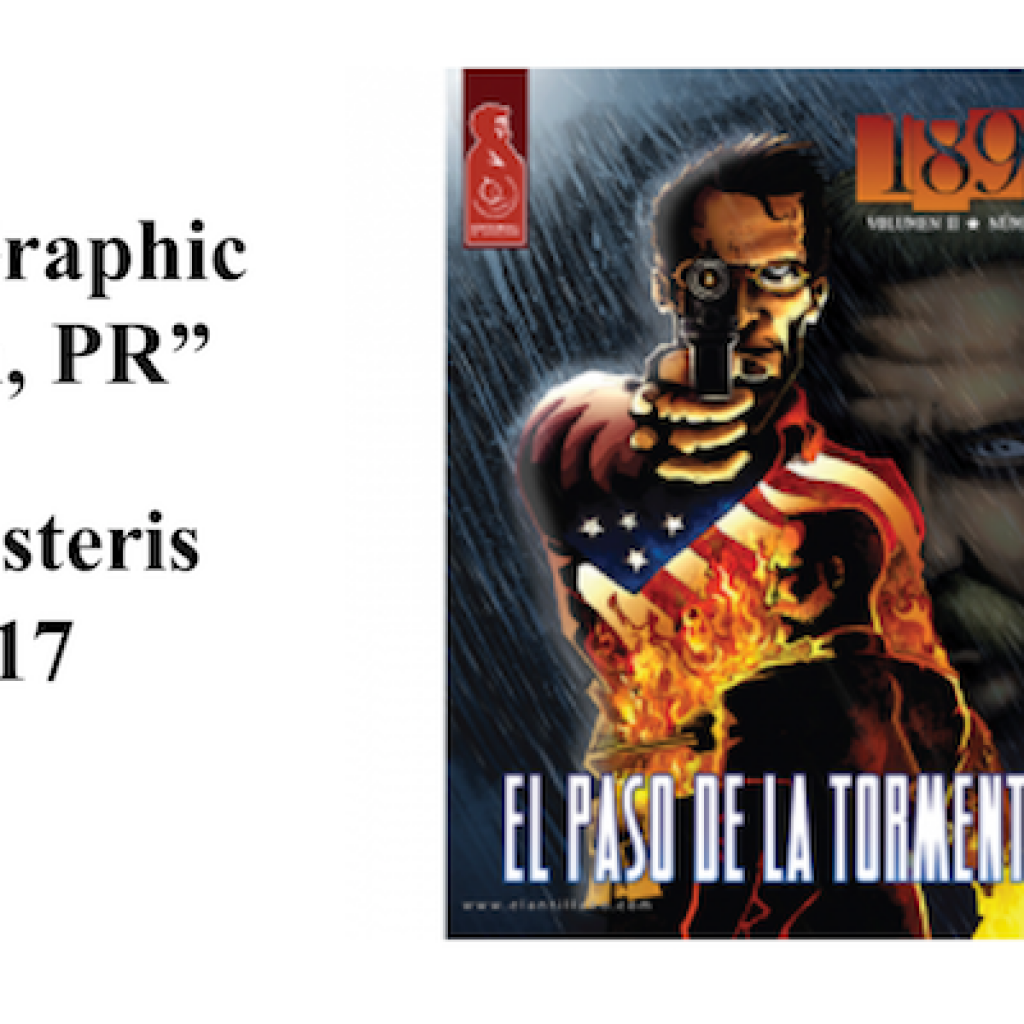 "Public Lecture: ""Drawing the Diaspora, Graphic Narratives from San Juan, PR"""