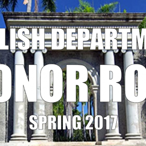 Congratulations to our Honor Roll Students!