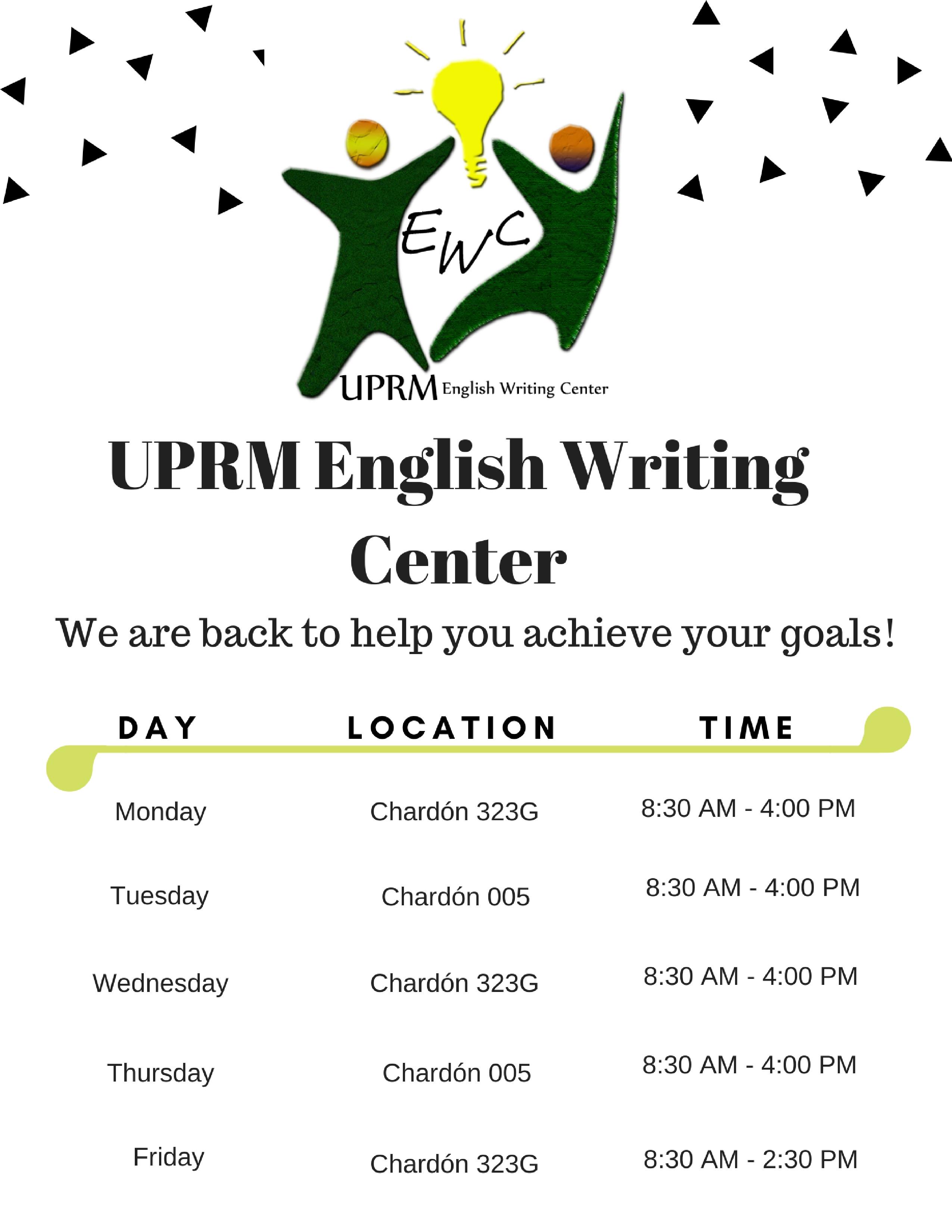 creative writing uprm