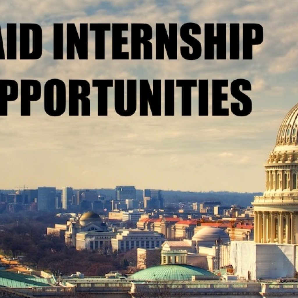 Internships and Scholarship Opportunities: Fall 2017 Edition