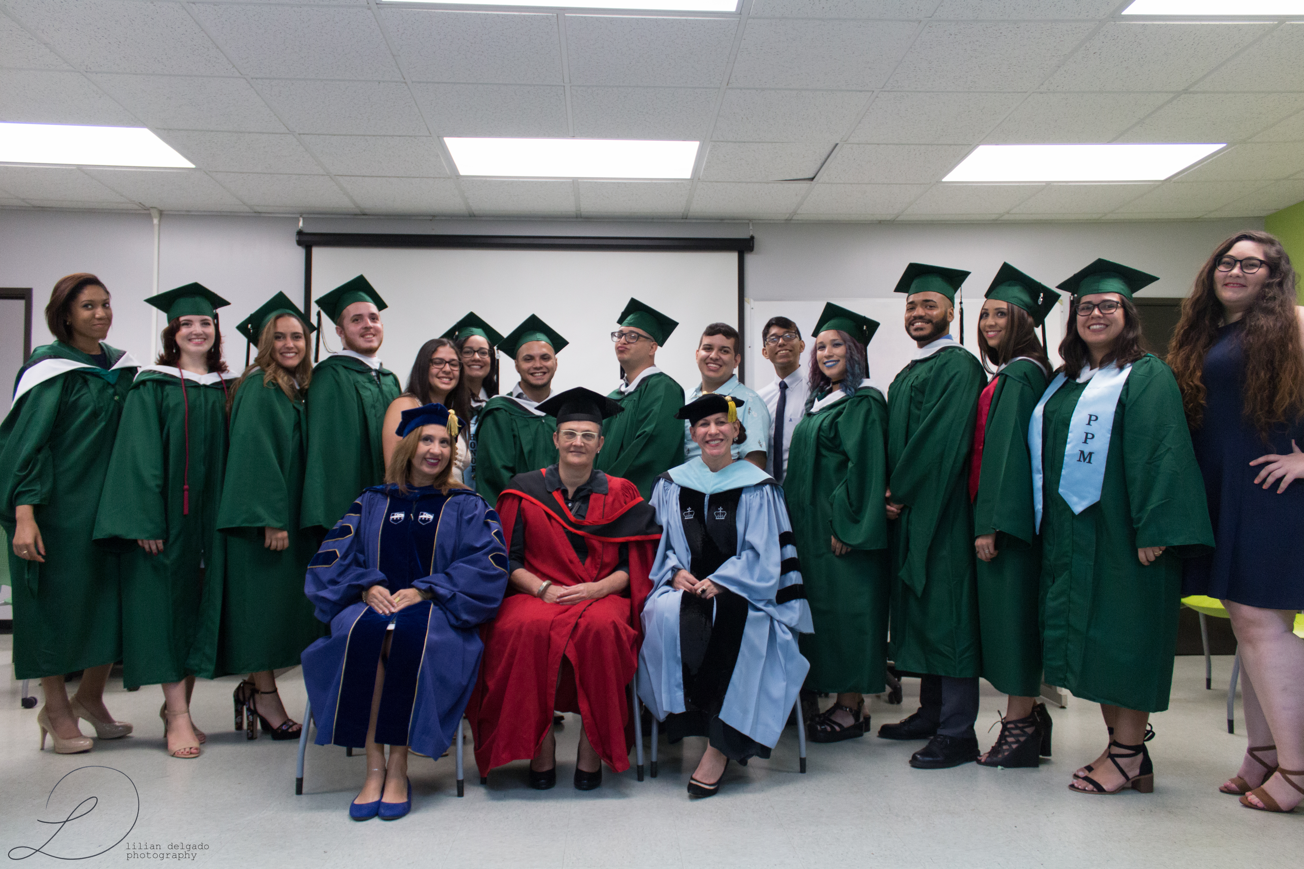 Graduate students and doctors of the English department.