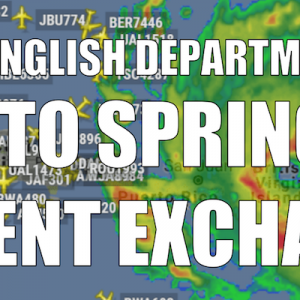 The English Department's Guide to Spring 2018 Student Exchanges
