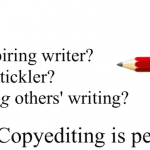 Promotion of the course INGL 4255: Professional Copyediting.