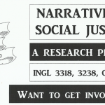 Promotion of the English courses related to Narrative as social justice.