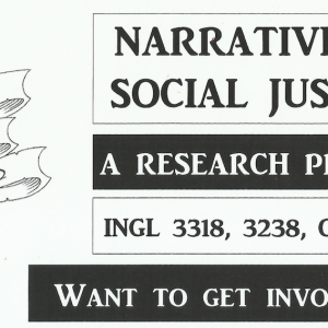 [Course Promo] Narrative as Social Justice