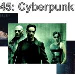 Promotion of the course INGL 3345: Cyperpunk Cinema.