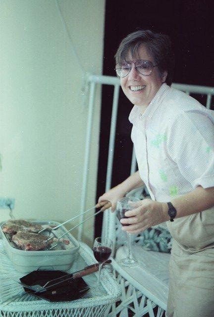 Liz, #40 birthday celebration in 1991.