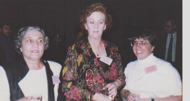 Liz Dayton at the Discourse of Disability conference back in 1992.