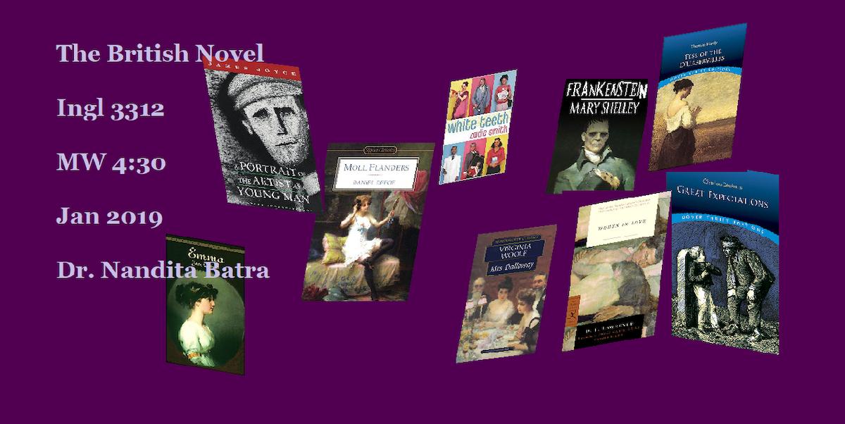 [Course Promo] INGL 3312: The British Novel