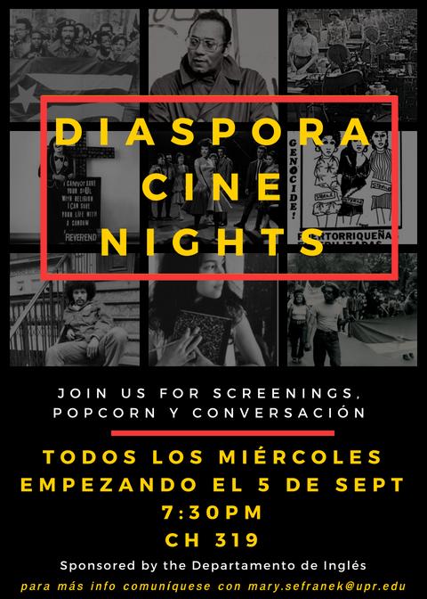 Diaspora Cine Nights Every Wednesday