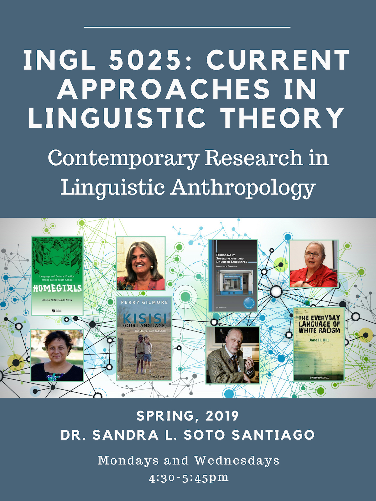 [Course Promo] INGL 5025: Contemporary Research in Linguistic Anthropology