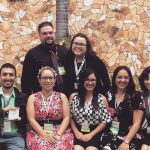 Graduate students of the English Department represent UPRM at the PRTESOL Convention.