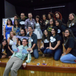 This image is of Popular Culture Student Association members