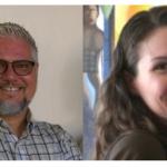 Dr. Leonardo Flores and Dra. Catherine Mazak.