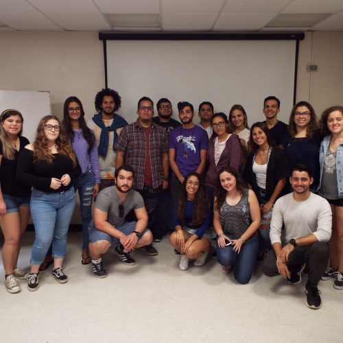 English Course Project: Hurricane Maria Entries and Research Presentations