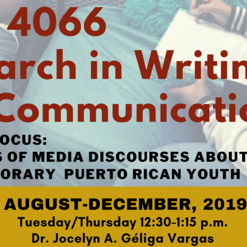 INGL 4066: Research in Writing and Communication