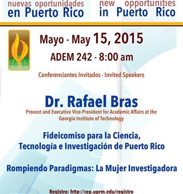 La investigación y la innovación como aceleradores de nuevas oportunidades en Puerto Rico