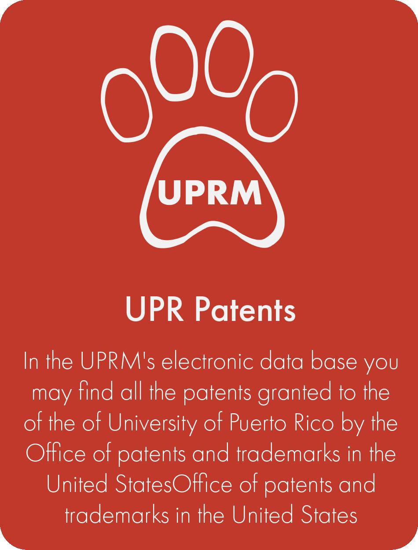 UPR Patents