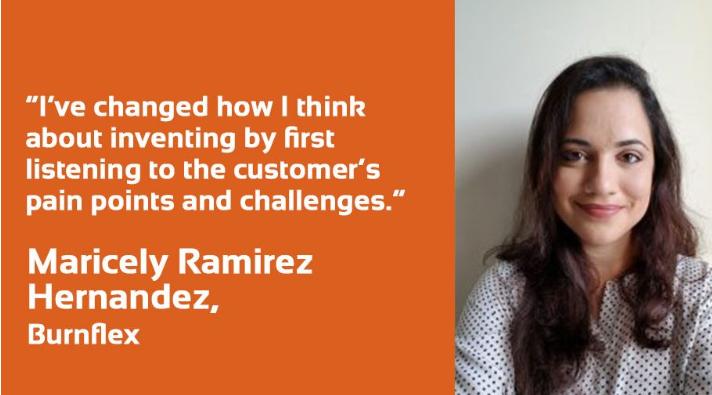 Innovator Spotlight: Maricely Ramirez Hernandez of Burnflex