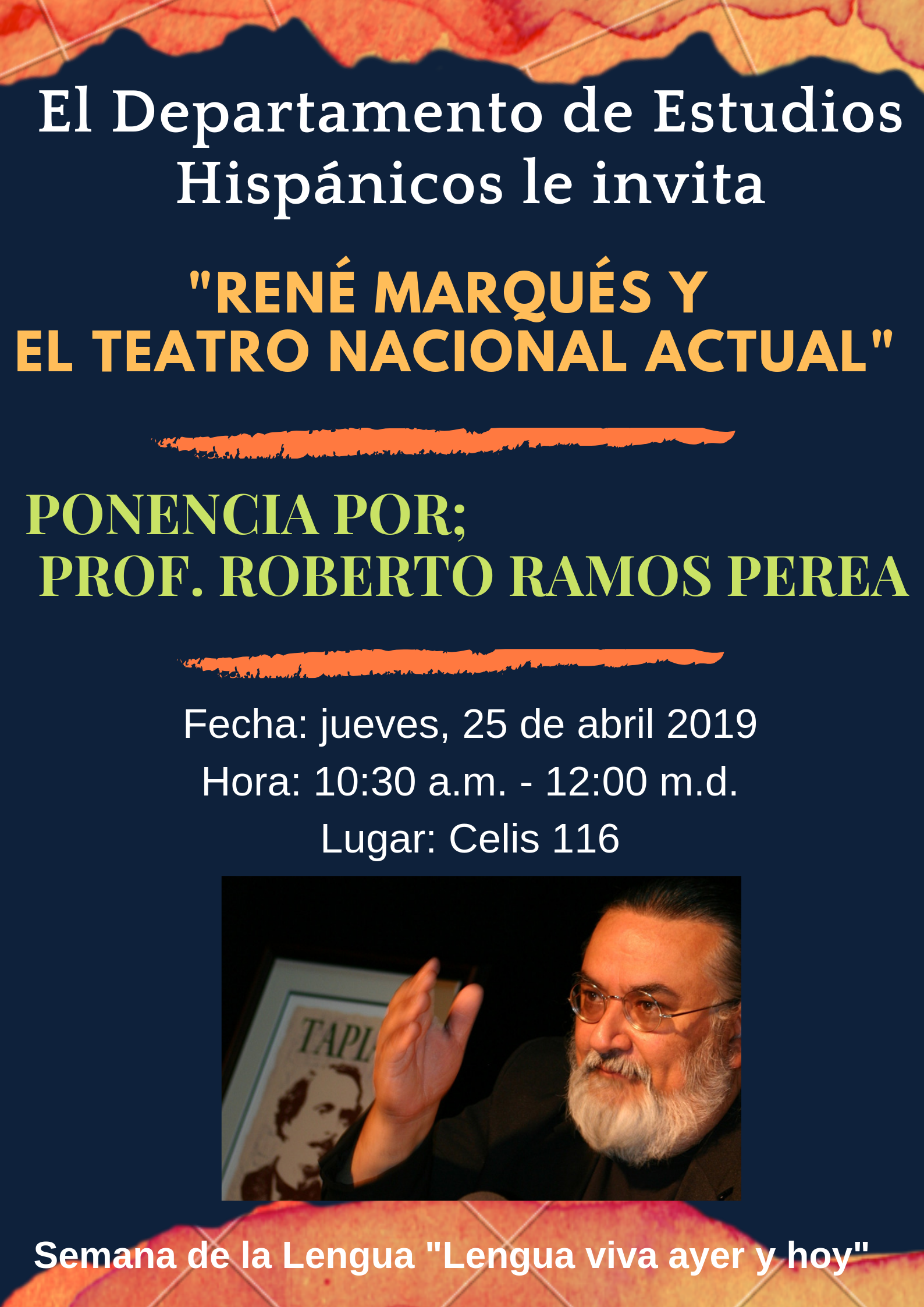 Pomo Prof. Roberto Ramos Perea